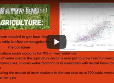 Water Footprint video project image